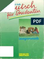 Deutsch Für Studenten Lesegrammatik