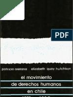 El Movimiento de Derechos Humanos en Chile, 1973-1990