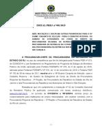 Edital - Abre 18o Concurso Estagio Direito