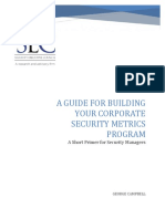 SEC Corporate Security Metrics Guide