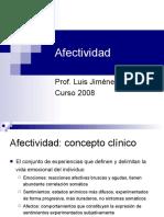 PPAT Clase 07 Psicopatologia de La Afectividad