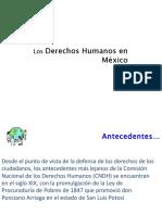 Derechos Humanos en Mexico