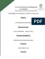 Investigacion Metodos de Analisis Financiero