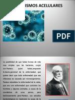 ACELULARES VIRUS, Priones y Viroides