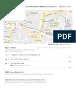 Recto Terminal, Manila, NCR to RESA Review School, Inc