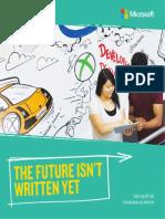 Microsoft Graduate Brochure