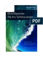 Read.. Os x 10 9 Mavericks the Ars Technica Review by John Siracusa