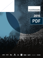 Harman Professional Catalog 2015