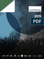 Harman Professional Catalog 2015