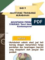 Bab 9 Akuntansi Transaksi Murabahah