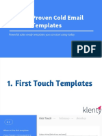 30 Proven Cold Email Templates
