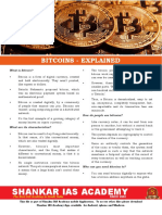 Bitcoins Explained