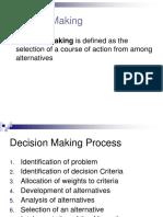 Manmeetdecision Making