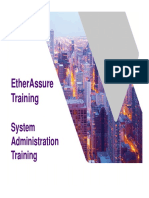 EtherAssure NetComplete Training - Session 4 - SystemAdmin