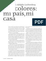 Revista UNAM Entrevista David Huerta Con Adolphe Lechtenberg