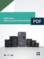 Simphoenix E280 Vector Control__ Universal Inverter Series Catalogue