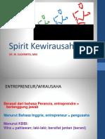 1. Spirit Wirausaha
