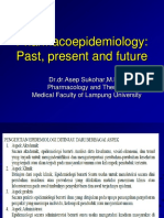 12. Pharmacoepidemiology Past, Present and Future