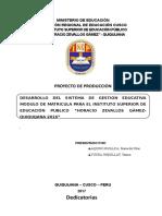 Proyecto Yani