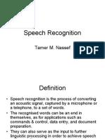 Speech Recognition (1)
