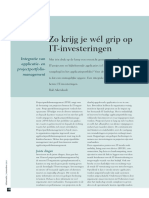 Koppelen van Applicatie- en Projectportfolio Management (Informatie 2013)