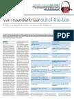 Artikel Van Maatwerk Naar Out-Of-The-box (2014)
