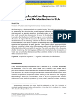 260558134 Ellis 2015 Researching Acquisition Sequences Idealization and de Idealization in SLA (1)