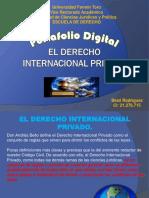 Portafolio Digital Derecho Internacional Privado