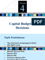 Chapter 4-Capital Budgeting
