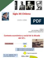 1.- Chile 1920 - 1990