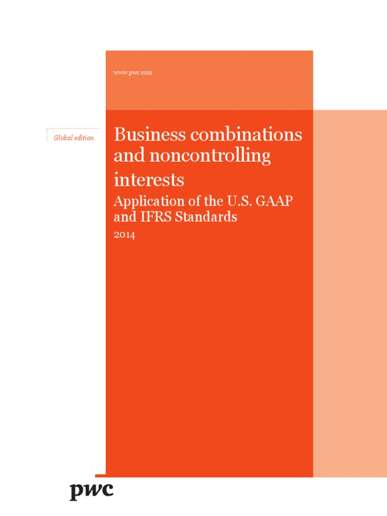 Pwc Business Combinations Noncontrolling Interests | Goodwill