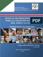 Manual Procedimientos Atencion del  Niño(a) I Nivel 2016 final (2).pdf