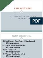 PPT Analisis Vitamin Larut Dalam Air Klp 6