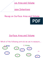 7.5 Surface Area and Volume Prism and Cylinder