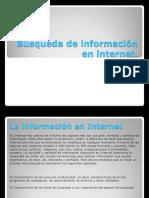Búsqueda de Información en Internet diapo