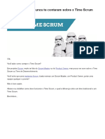 As Verdades Que Nunca Te Contaram Sobre o Time Scrum