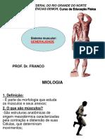 Aula Sistema Muscular Generalidades
