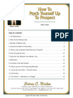 Psych Yourself Up (to prospect)