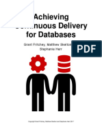 Achieving Continuous Delivery for Databases