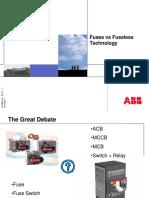 ABB- Fuses vs Fuseless