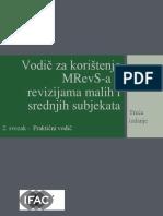 Vodič Za Korištenje MRevS-A u Revizijama Malih i Srednjih Subjekata, 2. Svezak - Praktični Vodič, Treća Edicija