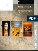 Lightolier ProSpec Track Lighting Brochure 1996
