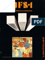 Lightolier QFS-1 Quad Fluorescent System Brochure 1986