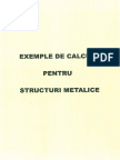 Exemple de Calcul Structuri Metalice