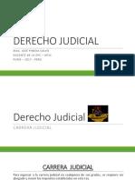 Derecho Judicial 5to