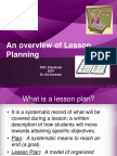 Lesson Planning Final