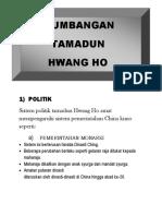 Sumbangan Tamadun Hwang Ho