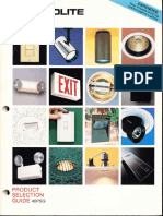 Prescolite Product Selection Guide 40PSG 1990
