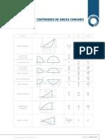Centroides de Acc81reas Comunes Ingenieria Elemental 1
