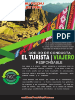 Brochure Codigo de Conducta Turista